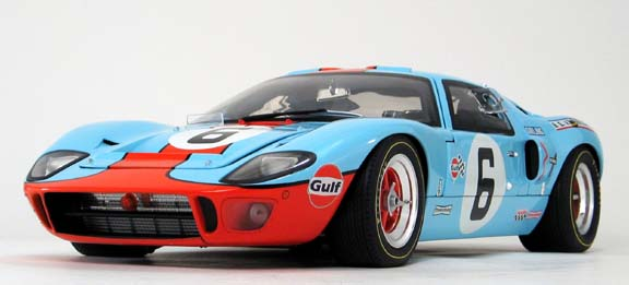 Ford GT40 gmp 1/12 scale diecast front view
