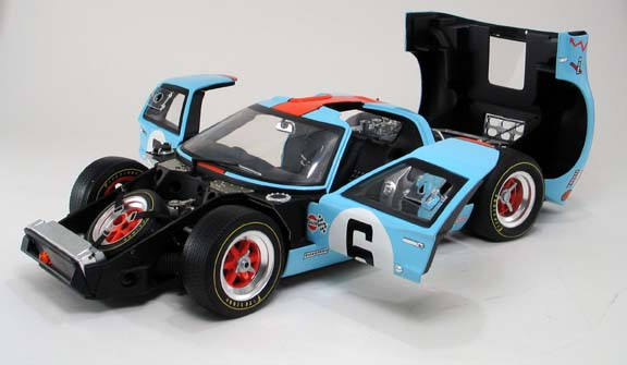 Die Cast Model Ford Gt40 1 12 Gmp